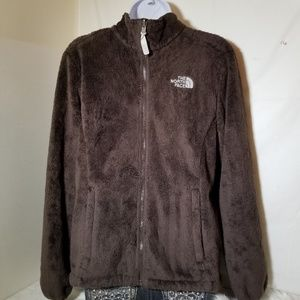 The North Face Womens Full Zip Brown Jacket Sz M
